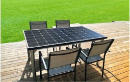 Table solaire photovoltaïque en autoconsommation