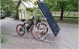 Support de recharge solaire pour vélo électrique