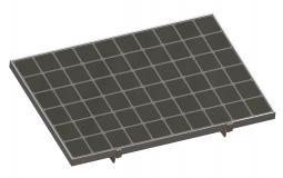 Kit de fixation brise soleil 2 panneaux