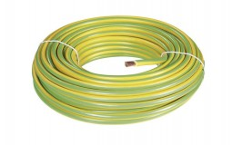 100 mètres de câble de terre souple vert/jaune 6mm²