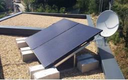 Exemple de fixation toiture plate