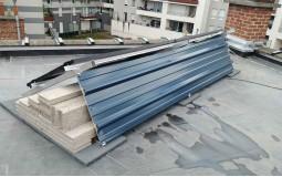 Installation de protection contre le vent