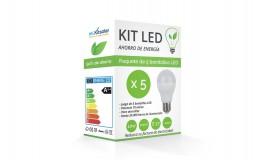 Kit LED A60 E27 10W