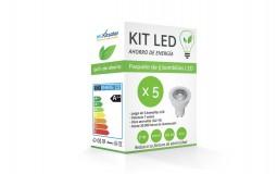 Kit LED Spot GU10 7W Blanco...