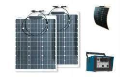 Neobank 312, kit solaire flexible nomade français