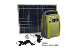 Composition da la box solaire nomade 290