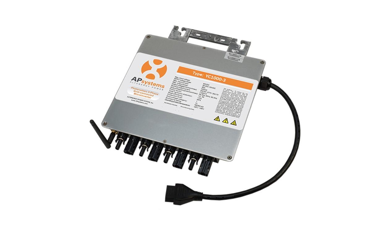 Micro-onduleur APSystems YC1000-3 garanti 20 ans